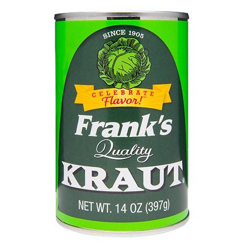 Frank's Kraut, 14 Oz (Pack Of 24)