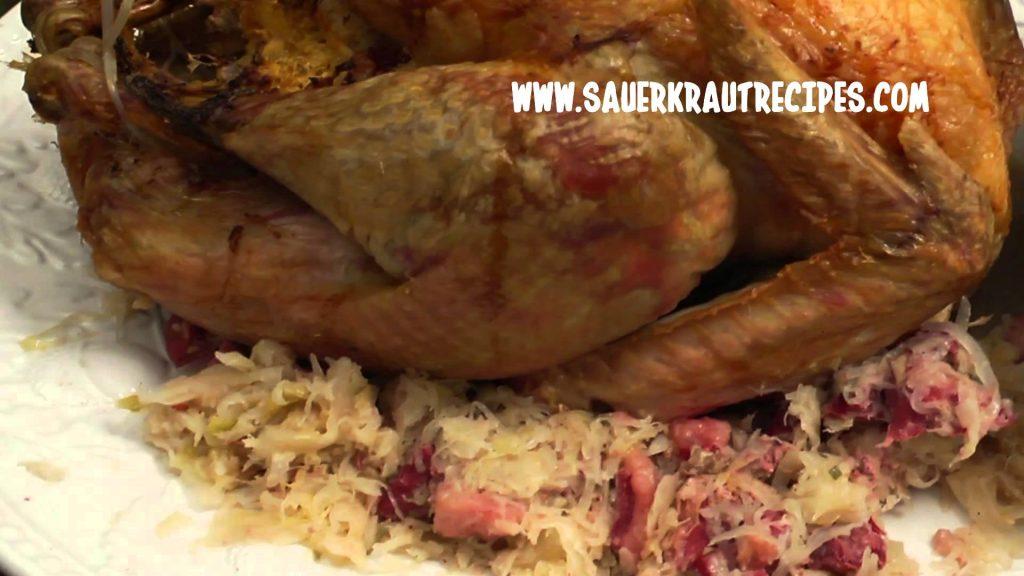 Frank's Kraut Reuben Stuffed Turkey