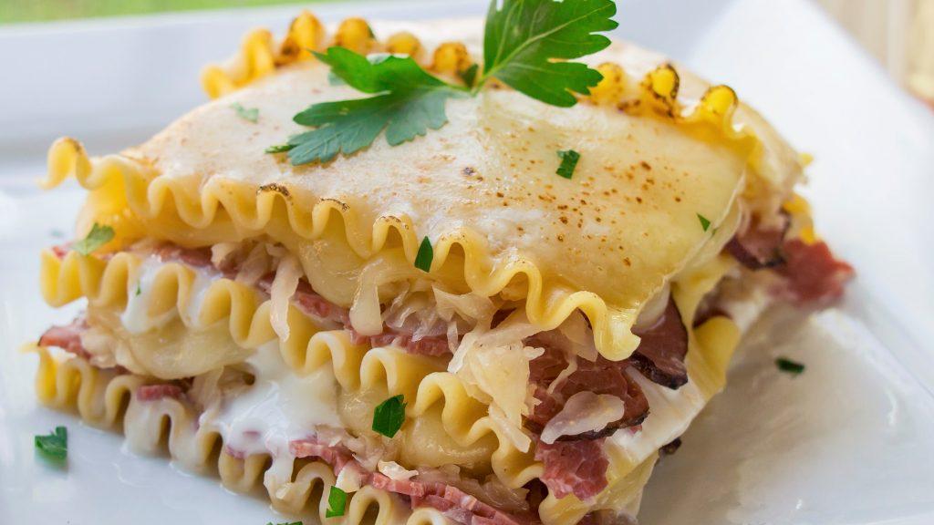 Frank's Kraut Reuben Lasagna