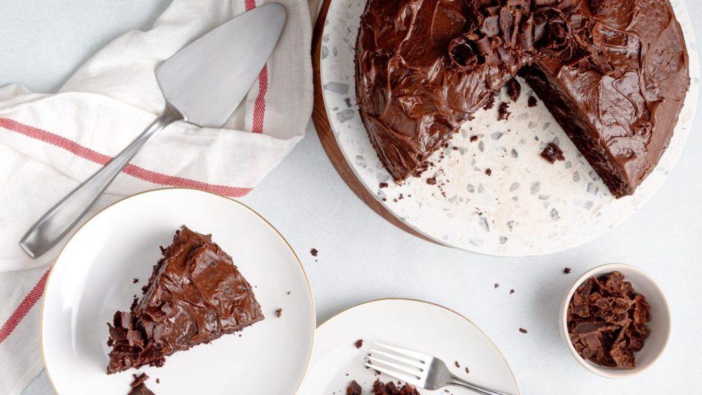Frank's Kraut Chocolate Cake