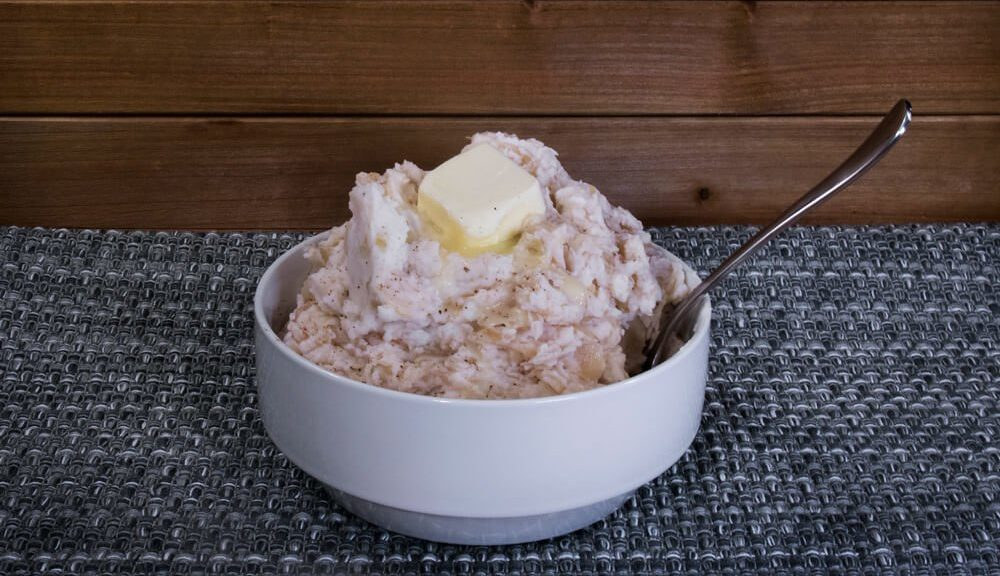 Colcannon with Kraut