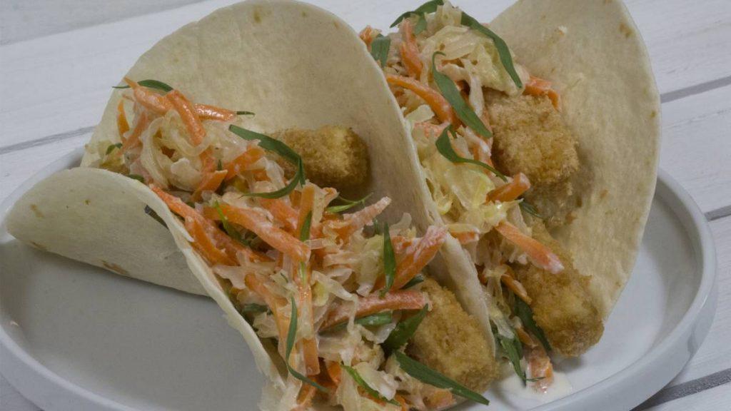 Bavarian Fish Tacos