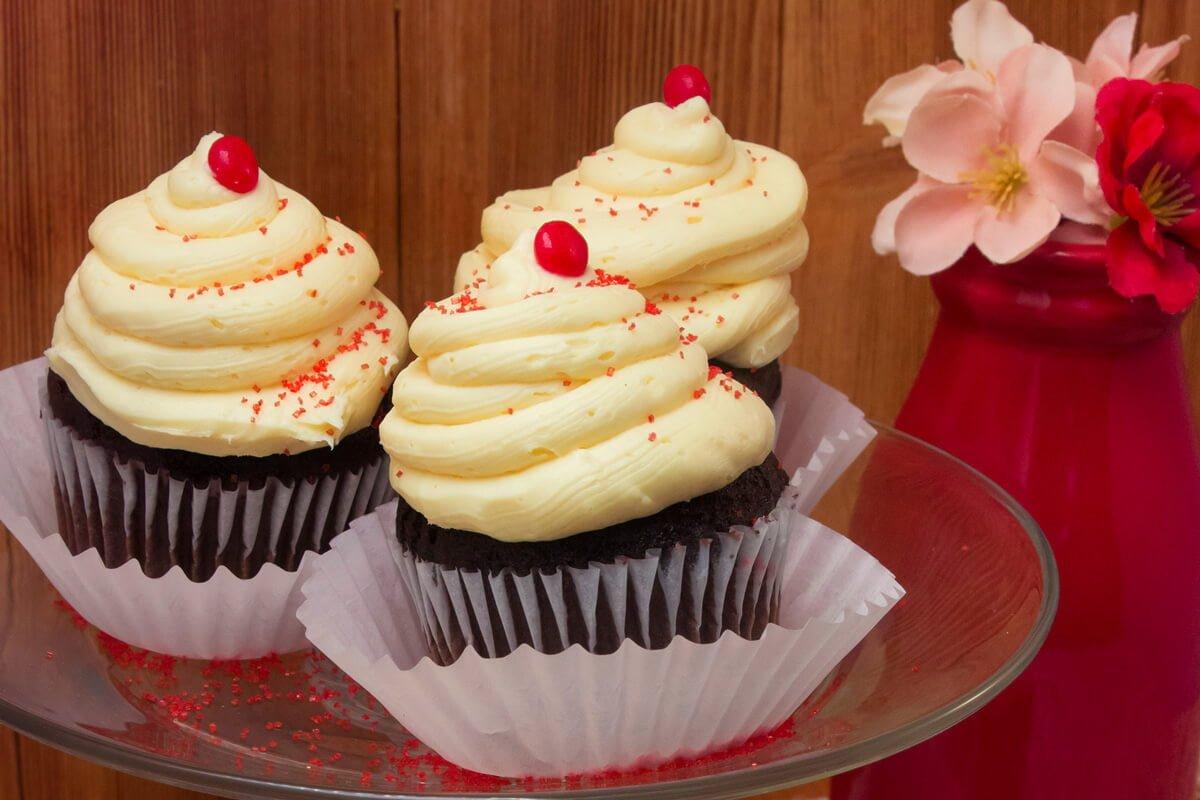 Chocolate Kraut Cupcakes