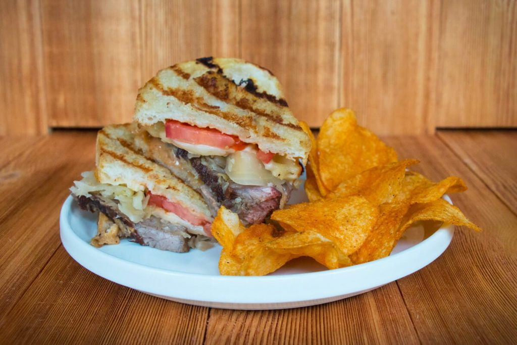Steak-and-Sauerkraut-Panini