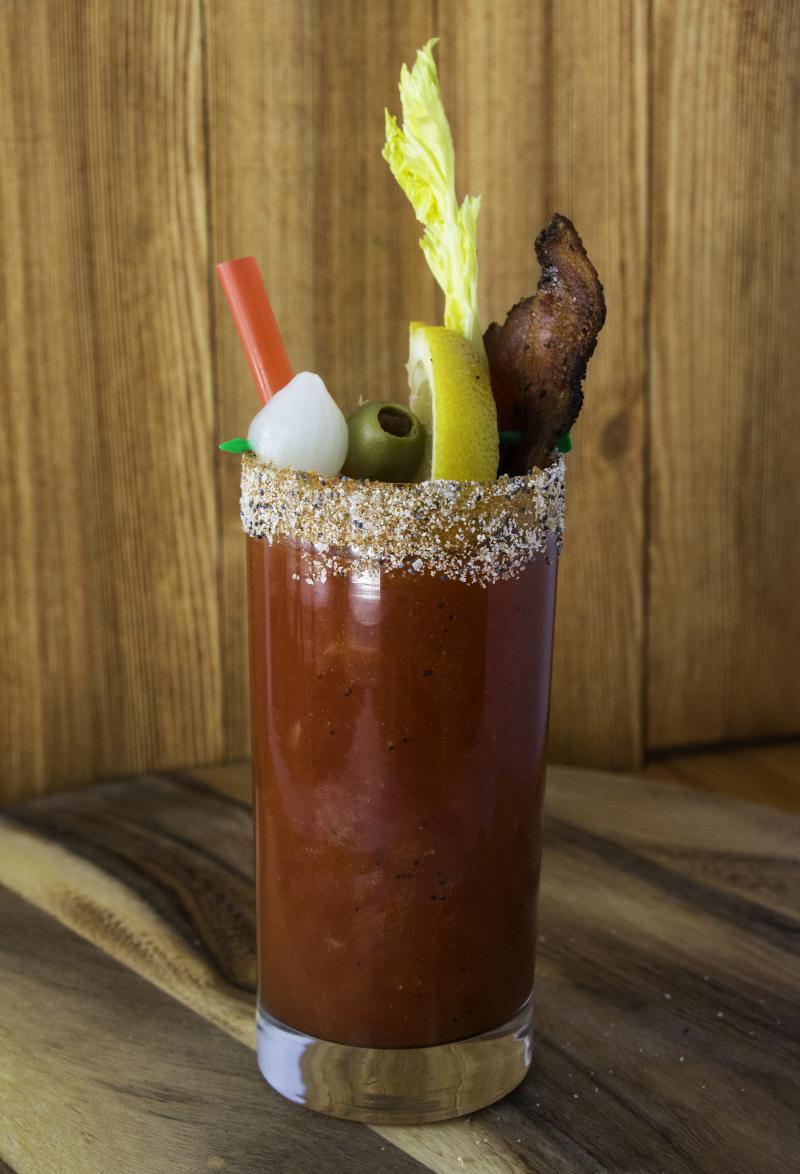 "Frank's Kraut Bloody Mary, a.k.a ""Bloody Frank"""