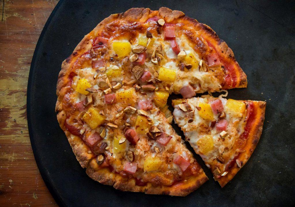 Polynesian-Kraut-Pizza