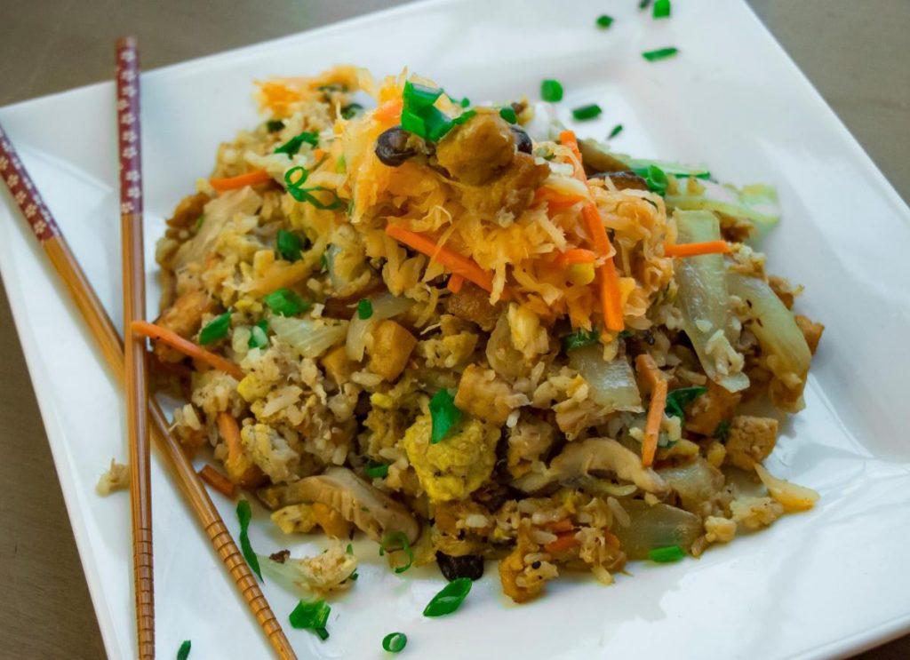Quick Kimchi Stir Fry