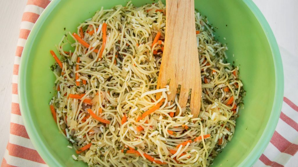 Kraut Pasta Salad