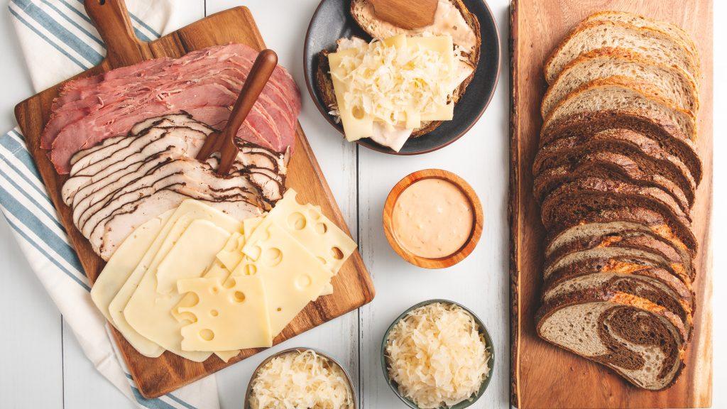 Reuben Sandwich Board