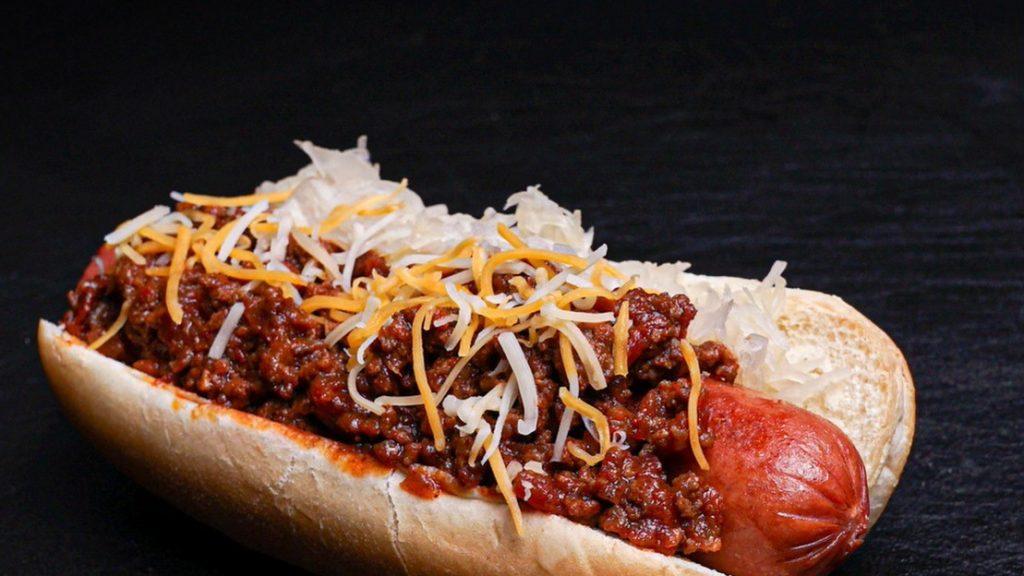 Frank's Kraut Chili Dog